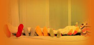Peaceful Slumber Socks